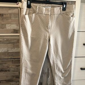 New York and Company cropped pants.